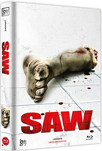 Saw - Director's Cut - Limitiert auf 100 Stück - Mediabook - Cover F [Blu-ray]