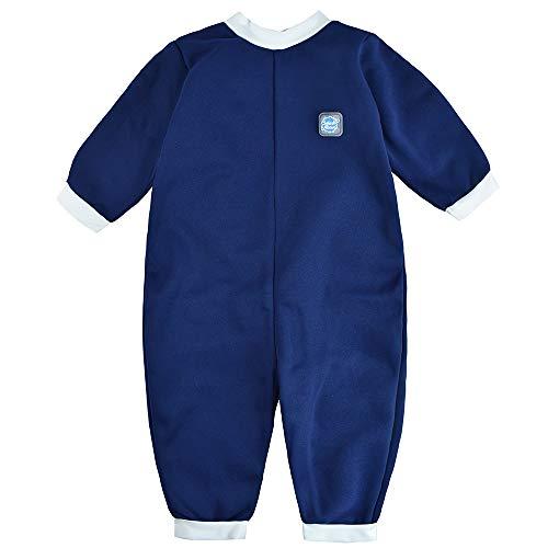 Splash About Baby Ganzkörper Schwimmanzug, Navy, 3-6 Monate (Herstellergröße: M)