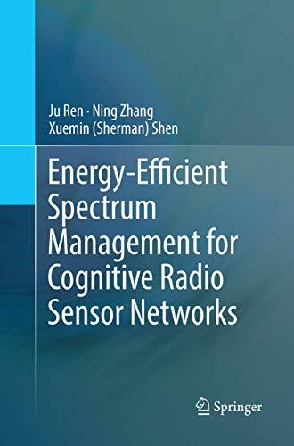 Energy-Efficient Spectrum Management for Cognitive Radio Sensor Networks