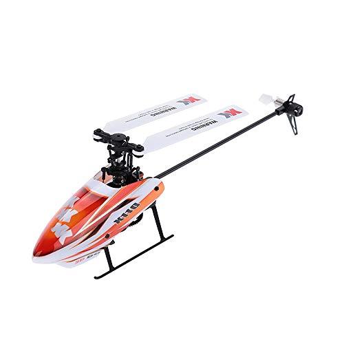 Ycco Helicóptero de 6 Canales Aileron Drone, RC Quadcopter Drone con Altitud Mantener sin Cabeza Modo 3D Flips 2.4 GHz 6 Eje Giroscopio RC Modelo Avión Vuelo Sim RTF Control Remoto EPP