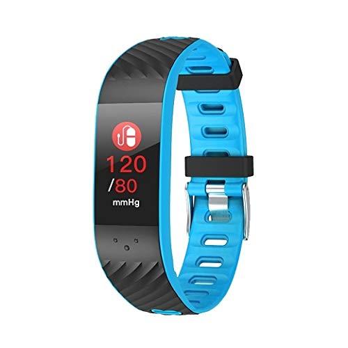 Brigmton Bsport-16-A Smart-Armband, Blau, Einheitsgröße