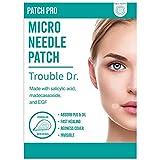 PATCH PRO Trouble Dr. Microneedle Patch 18pcs Parches para Espinilla, acné y manchas, de la piel con ácido salicílico, madecassoside