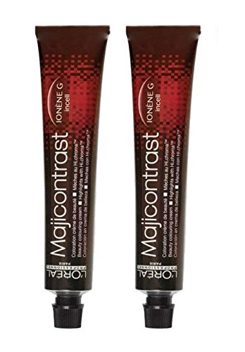 L'Oréal Majicontrast magenta-rood 2 x 50 ml haarkleur LP Coloration
