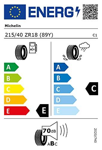 Michelin 25177 Neumático Pilot Sport Cup 2 215/40 ZR18 89Y para Turismo, Verano