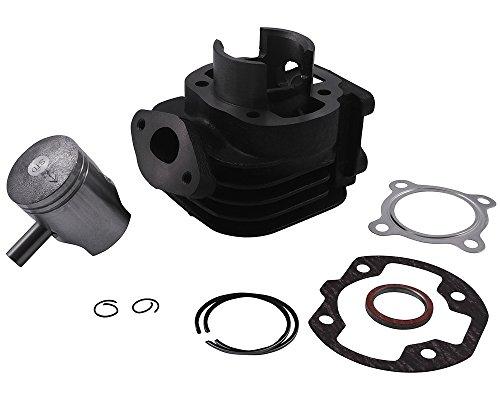 Kit cylindre 50 cc pour MBK Booster Spirit 50 cc, Track, Stunt, Naked, Yamaha BWs, NG, Bump, Spy