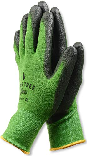 Pine Tree Tools Women's and Men's Bamboo Gardening Gloves, L