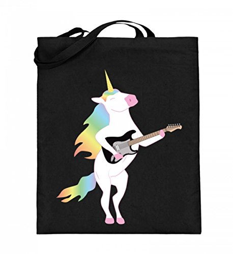 Chorchester Para los amantes de los unicornios y la guitarra. Bolsa de yute (con asas largas).