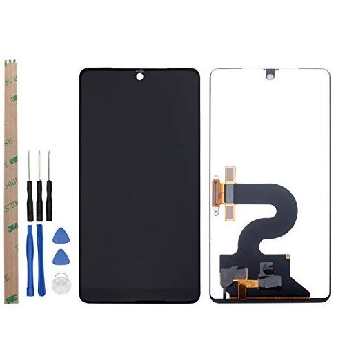 YHX-US Assembly for Essential PH-1 LCD Display Touch Screen Digitizer Replacement + A Set of Tools(Black)