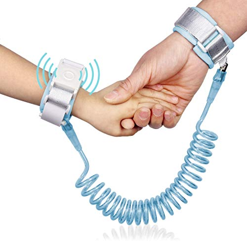 LONGTANQIAO Home Essentials YDYDMTM Happywalk Kids Safety-verlorener Endgelenkslenkers Zugseil mit Induktions-Lock, Länge: 2 m (Pink) (Color : Baby Blue)