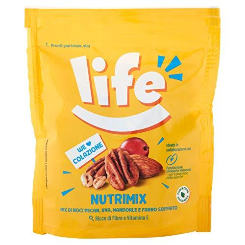 Life Nutrimix Colazione, Mix Frutta Secca, 90 G