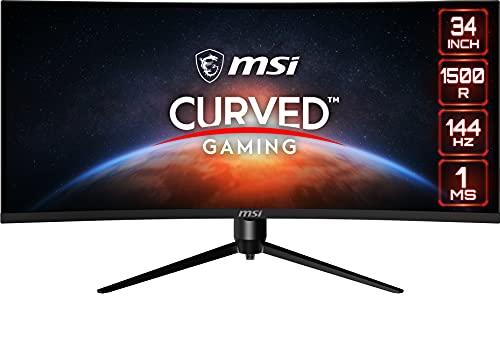 MSI Optix MAG342CQR Monitor Gaming Curvo 34 Pulgadas, Pantalla...