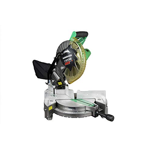 Metabo HPT 10-Inch Compound Miter Saw | Laser Marker | 15-Amp Motor |...