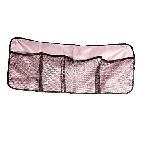 Bolsa de almacenamiento para el respaldo del asiento del automóvil, bolsa para el respaldo del asiento del automóvil de tela Oxford visible y transpirable, diseño de partición resistente