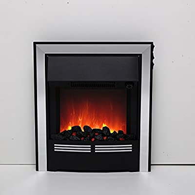 Be Modern Vitesse Inset LED Electric Fire - Chrome