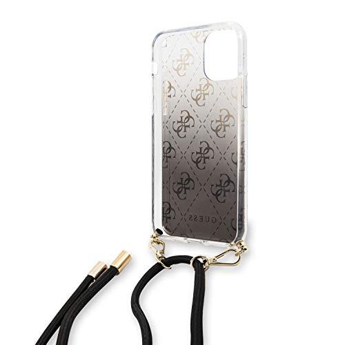 Guess Carcasa con Colgante Apple iPhone 11 Pro MAX Negra