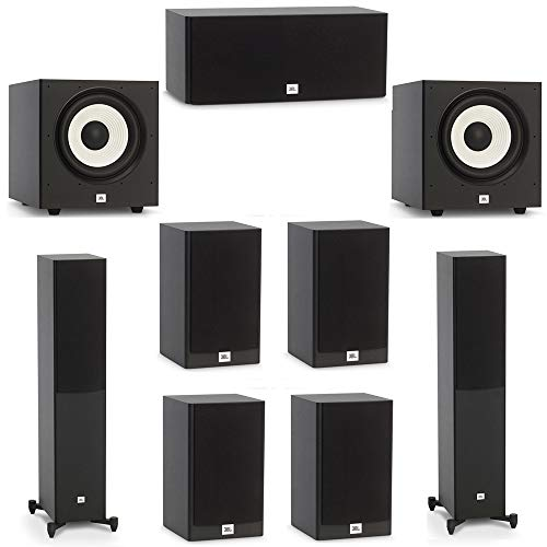 Review JBL 7.2 System with 2 JBL Stage A170 Floorstanding Speakers, 1 JBL Stage A125C Center Speaker...