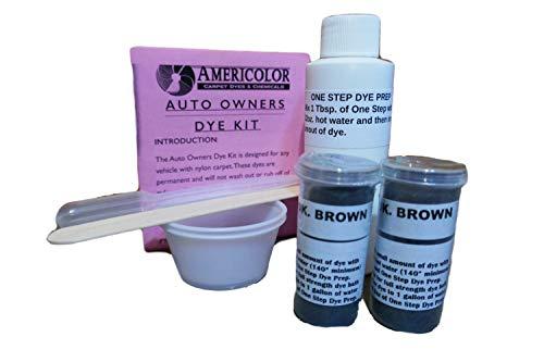 Automotive Carpet Dye Kit - Dark Brown