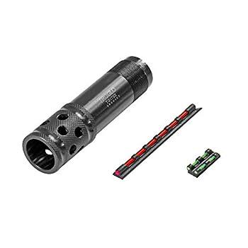 TRUGLO Gobble-Stopper Xtreme Shotgun Choke Tube Combo - Includes Universal-Fit Fiber Optic Sight Remington 12 Gauge