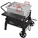 CreoleFeast CFB1001 Crawfish Seafood Boiler Outdoor Stove Propane Gas Cooker with 10-psi Regulator for Crawfish Season, Patio Cooking, Backyard Party