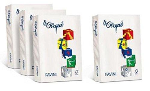 Cartotecnica Favini - A740304S - RISMA LE CIRQUE BIANCO 160G A4