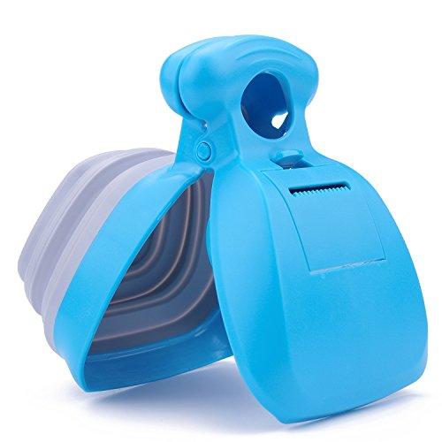 Super Design Portable Pooper Scooper con dispensador de Bolsas de desechos