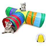 Ace one 3 Way Cat Tunnel Pet Tube Collapsible Play Toy Indoor Outdoor