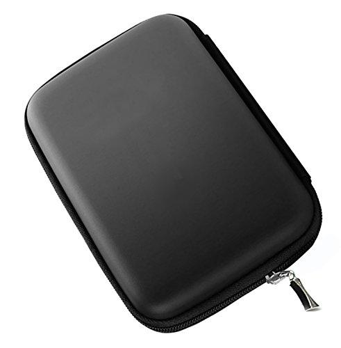 Demarkt 1pcs Multifonctions Etui Sac Housse Pochette Case Rigide pour Disque durs externes Portables Anti-Choc l'eau - Noir