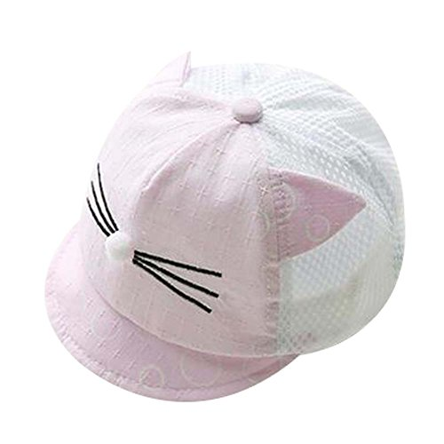 Chapeau de plage pliable Chapeau d'été Chapeau en coton Chapeau pour bébé Violet Charmant cadeau Sun