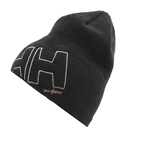 Helly Hansen Mütze aus Mikrofleece mit Logo HH WW Beanie 79830 schwarz