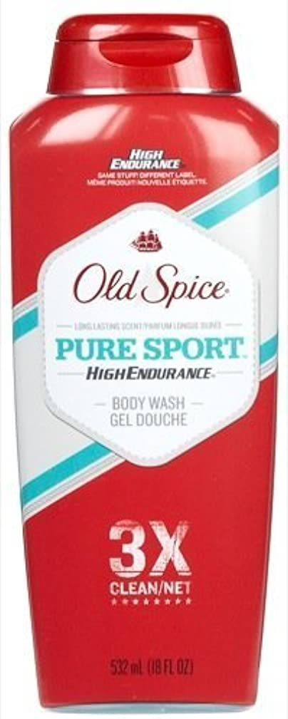 Old Spice High Endurance Body Wash, Pure Sport