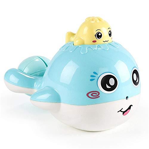 GZQ Juguetes de baño para niños,, Ballena rociador de Agua,Juguetes Flotante plastico para baño,Color Azar