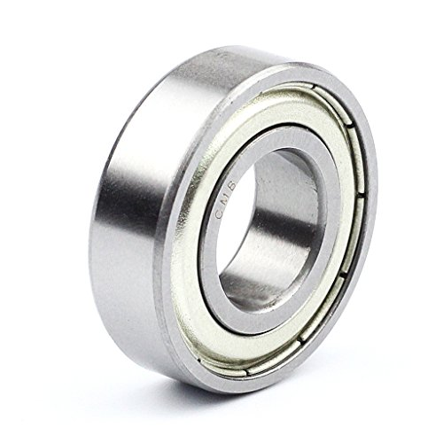 Pack de 4 pcs CMB 6208 ZZ Deep Groove Ball Bearing doble lados blindado 40 x 80 x 18 mm