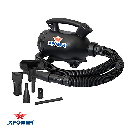XPOWER A-5 Multi-Purpose Mini Electric Duster/Dryer/Air Pump/Vacuum