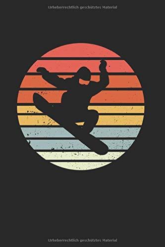 Snowboard | Notizheft/Schreibheft: Snowboard Notizbuch Mit 120 Gepunkteten Seiten (Dotgrid). Als Geschenk Eine Tolle Idee Für Profi Snowboarder Oder Schnee Fans