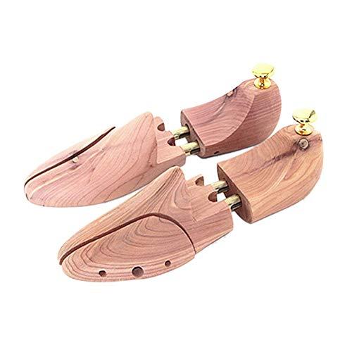 DSDD Ensanchador de Zapatos 1 par de zapateros de Ancho de Madera Ajustable para Hombres 43-44 Zapatero
