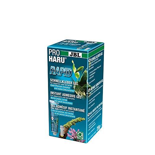 JBL ProHaru Rapid 61399, Schnellkleber für Aquarien und Terrarien, 20 g
