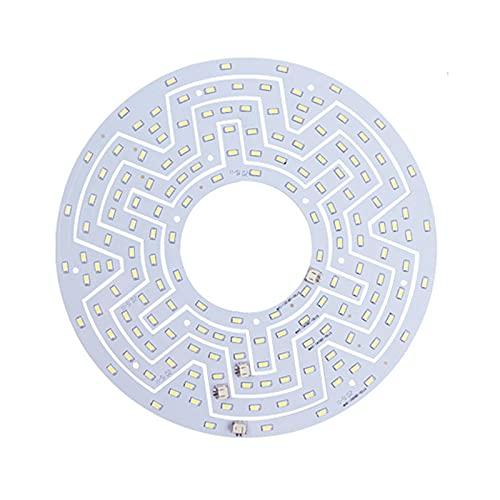 GYLTFL 15w LED Techo Panel Círculo Luz Módulo Lámpara Bordo Circular, para LáMpara de Techo, Kit de Conversión con Soporte Magnético, Blanco Módulo Retrofit Plafon para DIY
