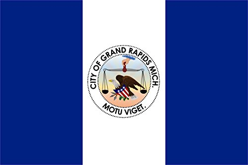 magFlags Flagge: Large Grand Rapids, Michigan | Querformat Fahne | 1.35m² | 90x150cm » Fahne 100% Made in Germany