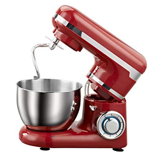 YXXJ Batidora Amasadora, Amasadora de Repostería Profesional Robot de Cocina Automática Multifuncional,6...