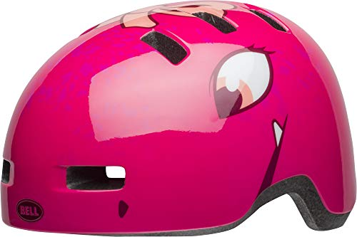 Bell Unisex Jugend Lil Ripper Fahrradhelm, Berry Eyes, Uni Toddler