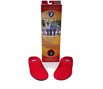 Pure Stride Arch Support Shoe Inserts M 9-9.5 / W 11-11.5 - Overpronation Insoles Insoles for Plantar Fasciitis Insoles for Men Insoles for Women Heel Cushion Inserts Orthotic Inserts for Men Shoe Insoles