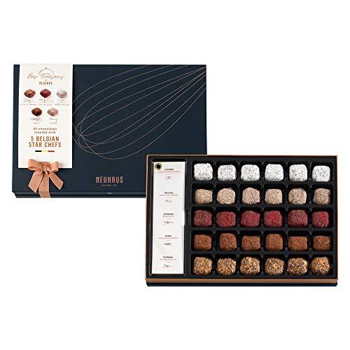 Les Tresors de Neuhaus Truffle Collection, Premium Belgian Chocolate Truffles, Gourmet Chocolate Gift, 30 pcs