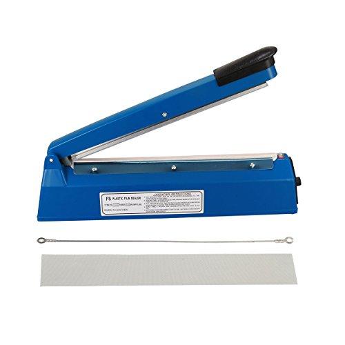 Yontree Sellador de Bolsas de Plástico Portátil Color Azul