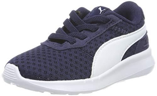 Puma Unisex-Kinder ST Activate AC Inf Sneaker, Blau (Peacoat White), 21 EU