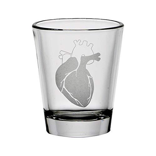Anatomically Correct Heart Standard Shot Glass