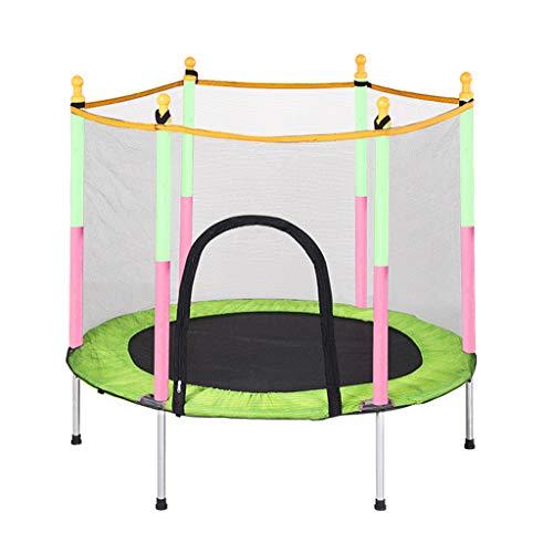 Trampoline Super Jumper Veermat, veiligheidsnet en randafdekking | Mini Round rechthoekig Buried | Tuintrampoline | Outdoor Indoor