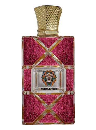 ROYAL CREED PURPLE TIDE. By royal Creed. France Eau De Parfum Spay for Women 100ml (3.4 oz). Wt 680 gm. Box Size 17 x 11.5 x 6.5 cm