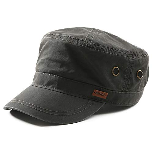 帽子 メンズ 春夏 アーミーキャップ ミリタリーキャップ uvカット コットン スナップバック 大きいサイズ ...