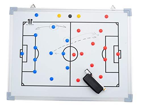 ELF Sports Magnet - Fußball Taktiktafel inkl. Zubehör - Verschiedene Größen wählbar, Größe:90 x 60 cm