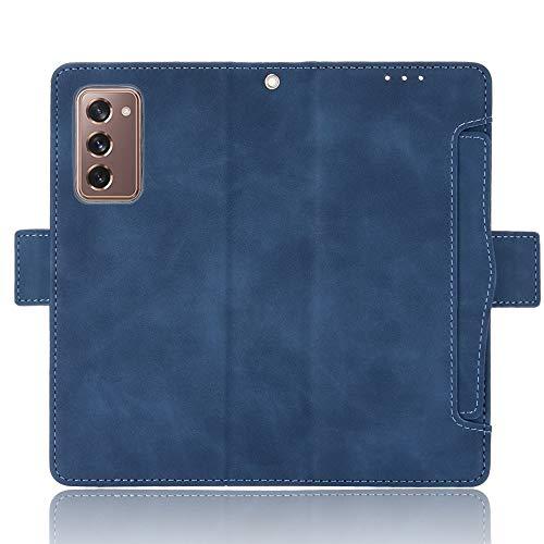 TingYR Cover per Samsung Galaxy Z Fold 2 5G, Flip Custodia Carte di Credito da Funzione Stand,...